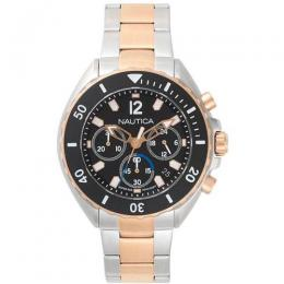 NAUTICA NAPNWP006 MEN'S NEWPORT TWO-TONE CHRONOGRAPH WATCH