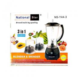 National National Star 3in1 Electric Blender
