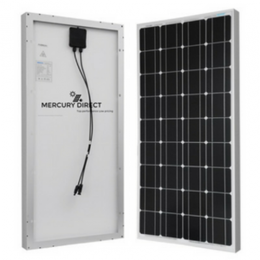 Mercury Solar Panel|MC-270P|270W|24 V|Polycrystalline Panels|Max 4320W