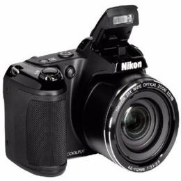 Nikon Coolpix L340 Digital Camera - Black