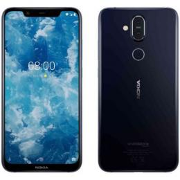 NOKIA 8.1 1119 DUAL SIM BLUE|Front camera 20 MP