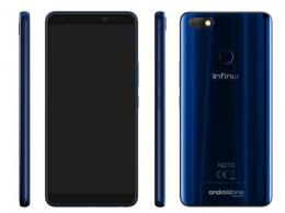 Infinix Note 5 Stylus X605 Blue 32GB+4GB