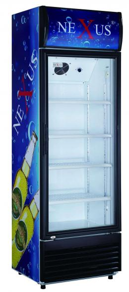 NEXUS NX-551 UPRIGHT SHOWCASE REFRIGERATOR(ILLUSTRATED IMAGE)