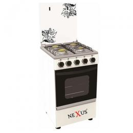 Nexus Gas Cooker GCCR-NX-5055W (4.0)White
