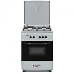 NEXUS NX-6004(3+1) TURKEY GAS COOKER SILVER FINISHED