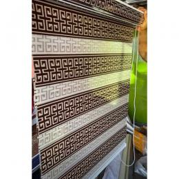 Day And Night Window Blind Coffee Brown 088 ... mini (W3ft x L4ft large (W7ft x L5ft) medium (W5ft x L5ft)