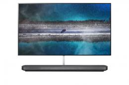 LG SIGNATURE W9 Wallpaper 77 inch Class 4K Smart OLED TV w/ AI ThinQ® - deluxe.com.ng