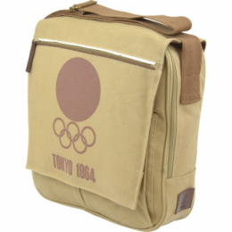 Olympic museum woven messanger across shoulder bag Tokyo 1964