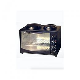 Eurosonic Multifunctional Oven With Twin Burner Electric Hot Plates - 22 Litres