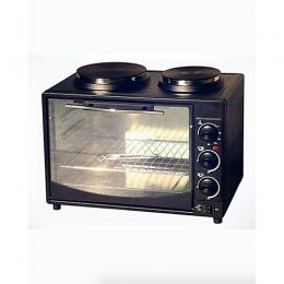 Eurosonic Multifunctional Oven With Twin Burner Electric Hot Plates - 32 Litres
