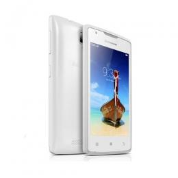 Lenovo A1000 4-Inch (1GB, 8GB ROM) Android Lollipop, 5MP Smartphone - WHITE