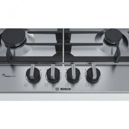 BOSCH -Serie | 6 60 cm, gas hob with integrated controls, Stainless steel