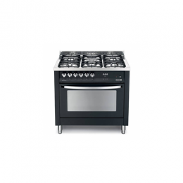 Scanfrost PNG96G2G - 90 X 60 CMS PEAL BLACK 5 BURNERS SEMI PROFESSIONAL COOKER