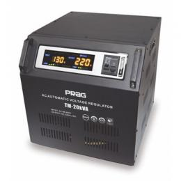Prag 20KVA Relay Voltage Stabilizer Input Voltage 95V-280V