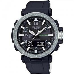 CASIO GENT'S PRG-650-1DR PROTREK SAFARI SILICON BAND WATCH