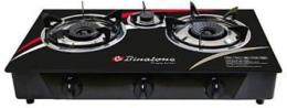 Binatone 3 Gas Burner -Table Top Gas Cooker- Ggc-0212 - deluxe.com.ng