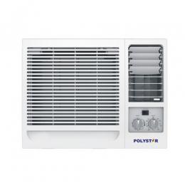 POLYSTAR 1HP WINDOW AIR CONDITIONER|NO REMOTE