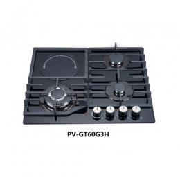 POLYSTAR 3X1 IN-BUILT GAS HOB|PV-GT60G3H