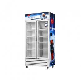 POLYSTAR SHOWCASE FRIDGE WITH DOUBLE DOOR|PV-SC695DDL