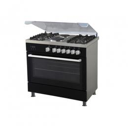 POLYSTAR PVND 90G2GP|POLYSTAR 4 GAS BURNER + 2 HOT PLATE WITH OVEN GRILL COOKER