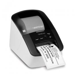 BROTHER QL-700 DIRECT THERMAL LABELL PRINTER,BARCODE SUPPORT AND P-TOUCH EDITOR SOFTWARE