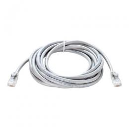 Cat6 UTP 24 AWG Round Patch Cord 3M Grey SKU NCB-C6UGRYR1-3 - deluxe.com.ng