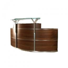 Crescent Reception Desk