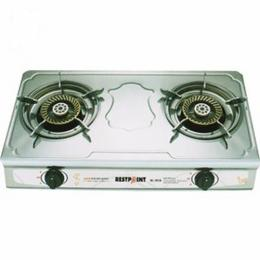 Restpoint Double Burner Gas Cooker