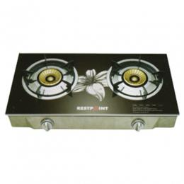 Restpoint Table Gas Stove | RC-26TBS (2 Burners/Glass)