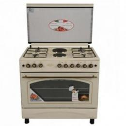 Royal Gas Cooker - 60 X 90 CMS | RG 6942 B|4 GAS + 2 HOTPLATE