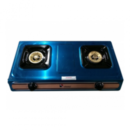 S-302(1) SAISHO DOUBLE BURNER GAS STOVE