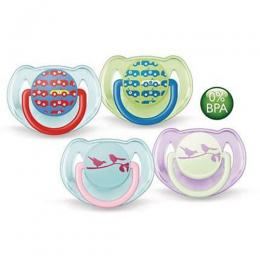 Philips Avent Classic Soothers SCF172/62 6-18 m Orthodontic & BPA