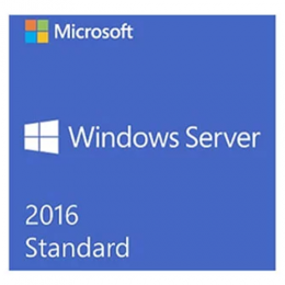 Windows Server Standard 2016 64 Bit English DVD Clt