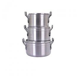 Hoffner Quality Cookware Pot Set 3pcs - 18cm/20cm/22cm