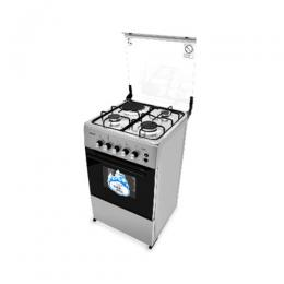 Scanfrost 3 Burner Cooker, Hotplate and Oven -SFC 5312S GAS COOKER