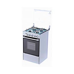 SCANFROST SFC5402S 50x55 CM 4 GAS BURNER|GAS OVEN