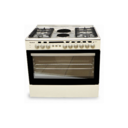 SCANFROST CK-9426 NE GAS COOKER|90X60 CM|4 GAS BURNER|2 HOT PLATES|ELECTRIC OVEN