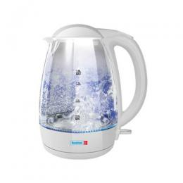Scanfrost Kettle 1.8l White pp Glass | SFKAK 1802