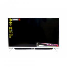 SCANFROST SFLED 32AS LED TELEVISION|SILVER ALUMINIUM FRAME