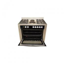 SCANFROST STANDING GAS COOKER 4GAS +2ELECT SFC9423SS