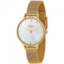 Skagen SKW2150 Women's Anita Gold Mesh Small Size Watch