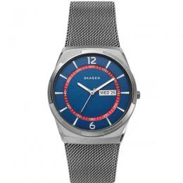 SKAGEN SKW6503 MEN'S MELBYE GREY STAINLESS STEEL-MESH MEDIUM WATCH