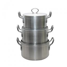 Hoffner 3 Set Of Medium Cooking Pots