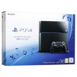 Sony Play Station 4, 1TB Console + Free Game(Drive Club & Ultimate Party)