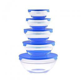 Sumo Premium 5Pc Glass Bowl With Lid TP 5002