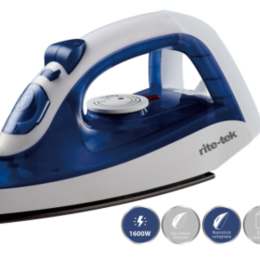 RITE-TEK Steam Iron ST-103|1600 watts (DE)