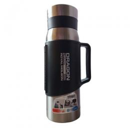 Dragon Royal Molson Hot Or Cold Water Insulated Stainless Steel Flask