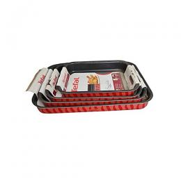 Tefal 4 Sets Of Non Stick Baking Tray. 25x19, 31x24 ,37x27, 41x29cm