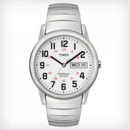 TIMEX T20461 MEN'S EASY READER DAY-DATE EXPANSION BAND WATCH