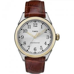 TIMEX T2P995 MEN'S BRIARWOOD TERRACE TWO-TONE CASE MEDIUM WATCH
